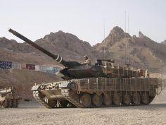 Leopard main battle tank.