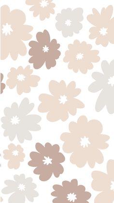 Phone Wallpaper Boho, Neutral Wallpaper, Hippie Wallpaper, Iphone Background Wallpaper, Retro Wallpaper, Print Wallpaper, Aesthetic Iphone Wallpaper, Flower Wallpaper, Cute Ipad Wallpaper