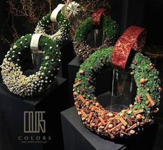 Image result for willow and foliage wreaths modern