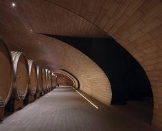cantina antinori winery by marco casamonti + archea at bargino, san casciano val di pesa, florence, italy
