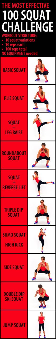 Squats are very hard to do and really hurt as well lol but this article looks fun and quick to do . -Sierra Molina