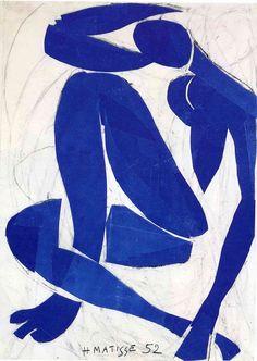 Henri Matisse   Blue Nude IV