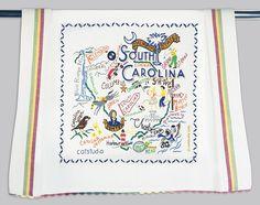 Catstudio South Carolina Dish Towel  | eBay