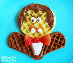 We have loved being Chief Waffle Officers for Eggo & this is our final creation for our Waffle Wednesdays! We created this fun Dracula Waffle Breakfast & my boys thought this was so funny! Halloween Breakfast, Halloween Treats, Fall Halloween, Breakfast Waffles, Snack Recipes, Snacks, Dracula, Giveaway, Sweet