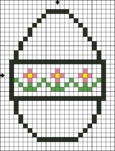 Stitch this free He is Risen Easter Egg Cross Stitch pattern for a variety of Easter projects.  Create ornaments, greeting cards, place cards, pins, bookmarks, or basket decorations.