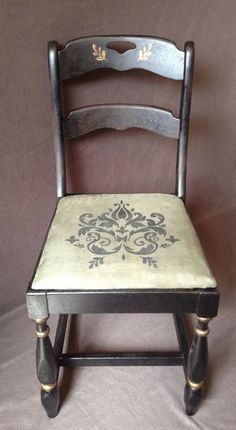 How I Turned an Ugly Dining Chair Into a Beautiful Victorian Piece