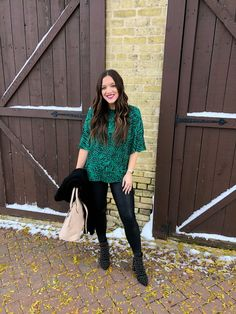 My Style Monday: Animal Instincts Long Cardigan, Sweater Cardigan, Good Morning Friends, Studded Boots, Blush Color, Spanx, Happy Monday, Outfit Posts, Lisa