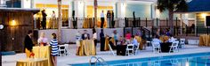 Wild Dunes Resort Wedding Photos// Great outdoor poolside event space! Palmetto Hall at Wild Dunes Resort