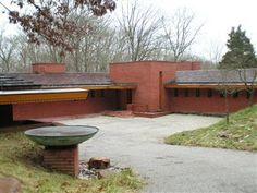 Cincinnati Modernation: Frank Lloyd Wright's Boswell residence, one of three FLW homes in Cincinnati.
