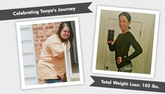 We're celebrating Tonya's Before & After RNY 112lb weight loss! Read her story and the NSV that her kids can now give her hugs & wrap their arms around her!