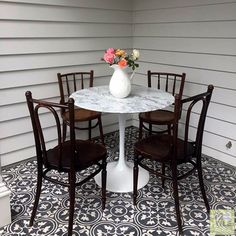 Tilemax Artisan Eco Floret 200x200mm Decor, Furniture, Tile Patterns, Tiles, Dining, Dining Table, Table, Home Decor, Inspiration