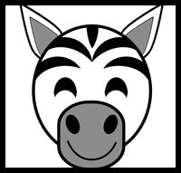 Make a Zebra Mask