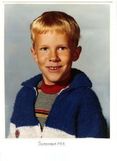 Treasure Chest Thursday: Boy's Blue Sweater #genealogy #familyhistory