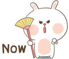 TuaGom : Puffy Rabbit by Tora Jung Cute Bunny Cartoon, Cute Cartoon Images, Cute Kawaii Animals, Cute Couple Cartoon, Cute Little Animals, Cartoon Pics, Cute Bear Drawings, Cute Love Gif, Cute Emoji