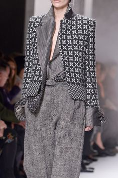 Haider Ackermann F13 _ Inspiration ~ love the contrast check sizing