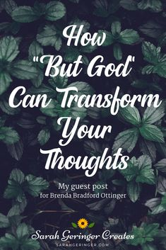 The phrase that's helping me pause, breathe, and stay sane is but God. Christian Post, Christian Marriage, Christian Parenting, Christian Faith, Christian Living, Women Of Faith, Faith In God, Christian Meditation, Christian Encouragement