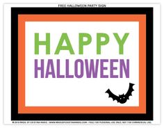 The Twinery: Halloween Printables - Made by Cristina Marie