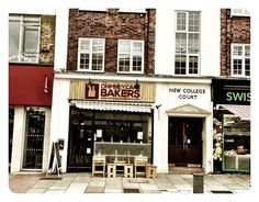 Store front at Chimney Cake Bakers, London. www.chimneycakebakers.com