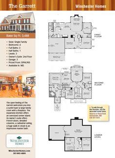 The Garrett, Winchester Homes, New Homes Guide