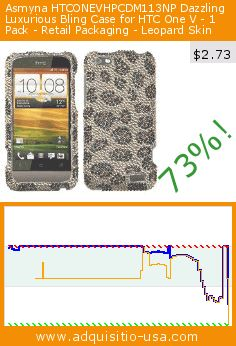 Asmyna HTCONEVHPCDM113NP Dazzling Luxurious Bling Case for HTC One V - 1 Pack - Retail Packaging - Leopard Skin (Wireless Phone Accessory). Drop 73%! Current price $2.73, the previous price was $9.99. https://www.adquisitio-usa.com/asmyna/htconevhpcdm113np
