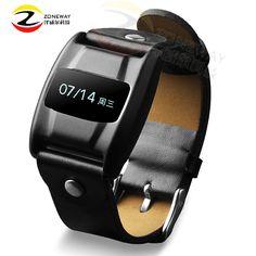 2pcs Newest V3 leather wrist strap Smart Band Blood Pressure Heart rate monitor SmartBand Sport fitness Bracelet Pedometer PK M2 #Affiliate