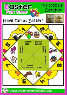 easter cootie catchers 1000 images about cootie catcher on catcher 1916