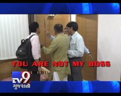 Mehsana:  Navneet Patel,  Chief Officer at Mehsana Municipality lost his cool when Tv9 reporter probed him about luxurious bungalow. As per rules, municipality is supposed to allot government quarter to babus but Mehsana municipality has spent Rs.71 lakh on construction of bungalow for Patel and is going to spend additional Rs.50 lakh for furniture. When reporter tried to enquire about bungalow, fuming chief officer yelled at reporter, 'You Are Not My Boss'!