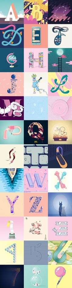36 Days of Type on Behance