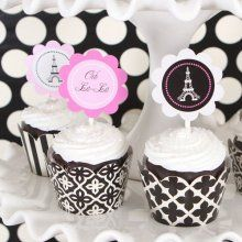 cupcake bride and groom topers | Unique Wedding Cake Toppers, Monogram Cake Toppers