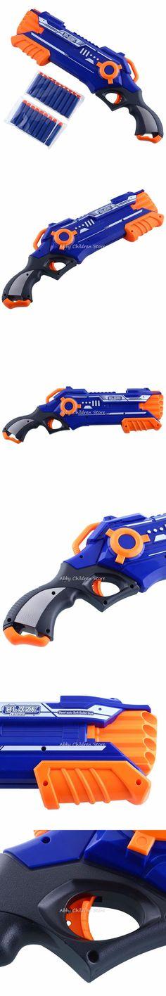 Pistol Nerf Gun Plastic Toy Gun Sniper Rifle Orbeez Arme Nerf Blaster With 12 Darts Kids Toys For Children Birthday Gifts