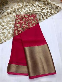 Want to know about quality Elegant Designer Indian Sari also items like Sari plus Bollywood then CLICK VISIT link above to see Indian Attire, Indian Wear, Indian Style, Indian Ethnic, Indian Dresses, Indian Outfits, Jute, Saree Jackets, Modern Saree