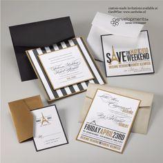 Envelopments wedding invite