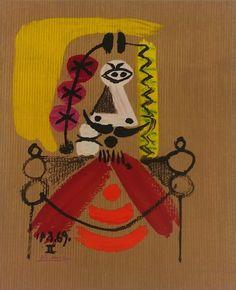 Portraits imaginaires 14 3 69 II | Pablo Picasso, Portraits imaginaires 14 3 69 II (1971)