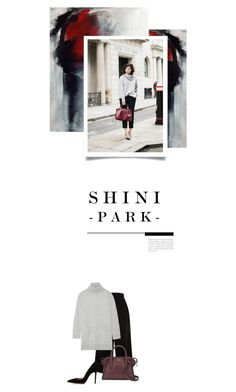 """""""p ɑː k / (ə) n / k j uː b / - 0 3 5 -"""" by hey-anna ❤ liked on Polyvore featuring Proenza Schouler, DKNY and Gianvito Rossi"""