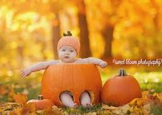 baby in pumpkin - must do this fall with little A!
