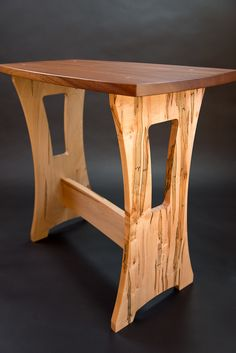 Woodworking I: Trestle table made by Bart Hanks (October 2013)