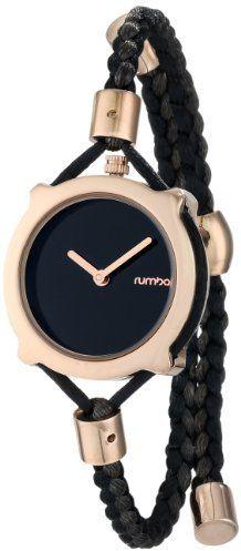 cf4b7a33b9c RumbaTime Women s Gramercy Lights Out Analog Display Japanese Quartz Black  Watch on Shopstyle. Sapatos
