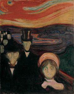 Anxiety - Edward Munch