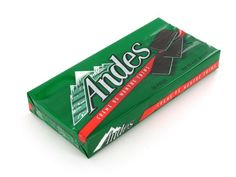 Andes Chocolate Mints are small rectangular candies consisting of one mint-green layer sandwiched in between two chocolate- brown layers.Orders placed by midnight usually ship on the next business day.