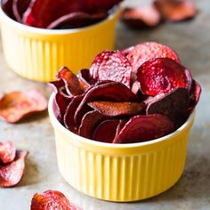 Oven-Baked Beet Chips from A Spicy Perspective