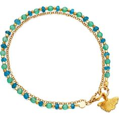 Onyx, diamond and 18ct yellow gold-plated ginko biography bracelet ($300) ❤ liked on Polyvore featuring jewelry, bracelets, gold diamond bracelet, gold charms, lobster clasp charms, charm bracelet en gold bracelet