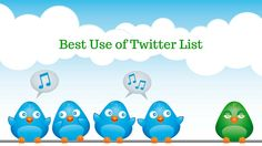 Best Use of Twitter List What Is Twitter, Today Episode, Business Advice, Social Media Marketing, Wednesday, Benefit, Cat Breeds