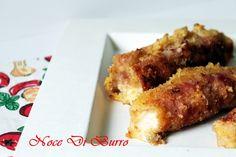 Rotoli di prosciutto impanati, ricetta Noce Di Burro