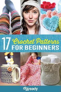 17 Amazing Crochet Patterns For Begginers | Handmade Crafts And DIY Skills by DIY Ready at http://diyready.com/17-amazing-crochet-patterns-for-beginners