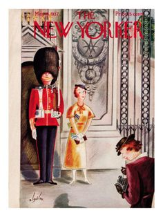 The New Yorker Cover - May 15, 1937 Constantin Alajalov