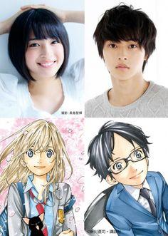 """Hirose Suzu and Yamazaki Kento to star in """"Shigatsu wa Kimi no Uso"""" live action film adaptation - yabai!"""
