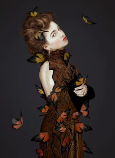 Butterfly-Infused Beauty Photography : Dijora and Kristina Beauty Photography, Creative Photography, Fashion Photography, Photography Ideas, Themed Photography, Fantasy Photography, Madame Butterfly, Butterfly Art, Butterflies