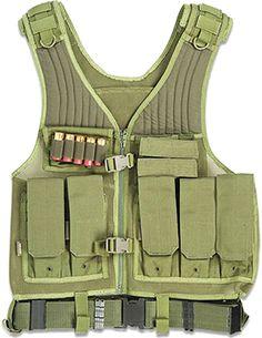 Drago Gear First Strike Tactical Gear Vest - OD Green