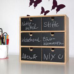 Tafelfolie Etiketten für Mini-Kommode Nr. 2 Aufkleber Wandtattoo | eBay