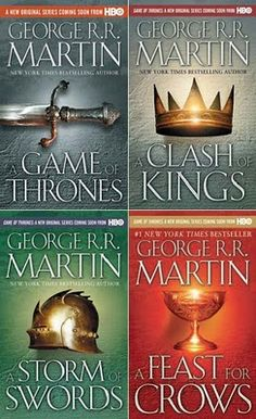 A Game of Thrones series by George R. R. Martin